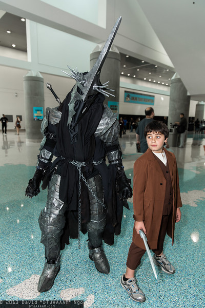 Witch-king of Angmar and Frodo Baggins