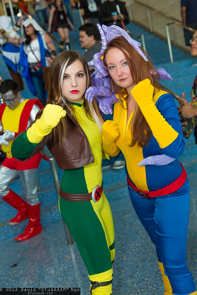 Rogue, Shadowcat, and Lockheed