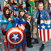 Miss America Chavez, Captain Americas, and Agent Phil Coulson