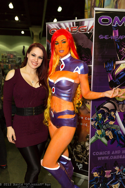 Teresa Noreen and Starfire