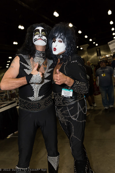 Peter Criss and Paul Stanley