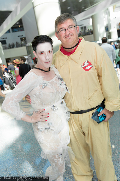 Gozer and Ghostbuster