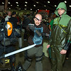 Deathstroke the Terminator, Deadshot, and Green Arrow
