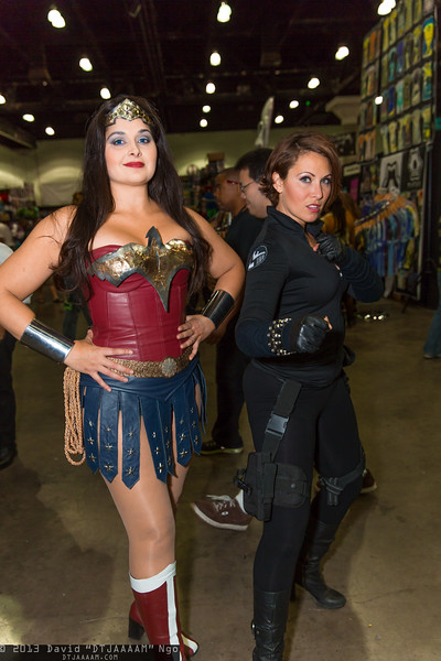 Wonder Woman and Black Widow