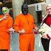 Riddler, Black Mask, and Harleen Quinzel
