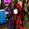 Hit-Girl and Deadpool