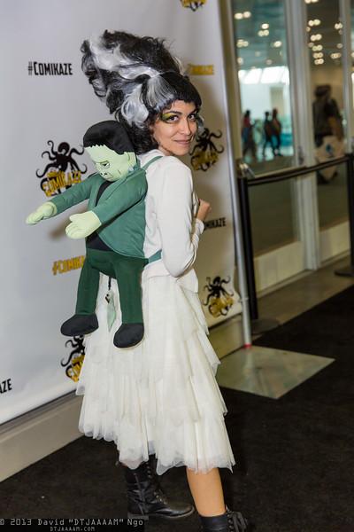 Bride of Frankenstein and Frankenstein