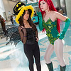 Batgirl and Poison Ivy