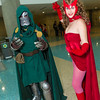 Dr. Doom and Scarlet Witch