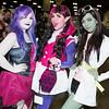 Spectra Vondergeist, Draculaura, and Scarah Screams