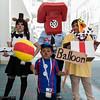 Freddy Fazbear, Ballon Boy, Phone Guy, Chica, and Puppet
