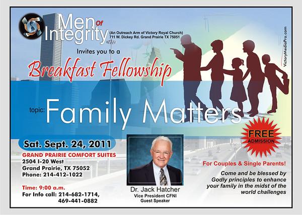 Mens September meeting 2
