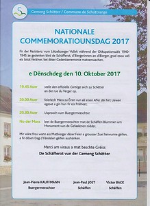 Commemoratiounsdag 2017