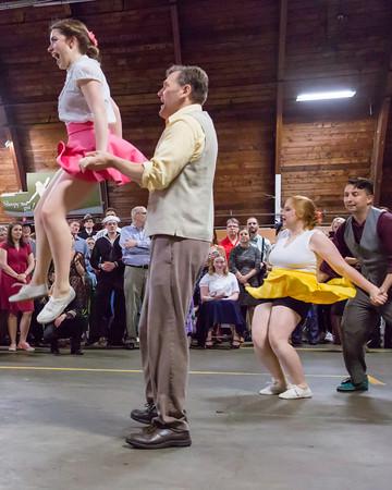 CAF MN Wing Spring Swing Hangar Dance