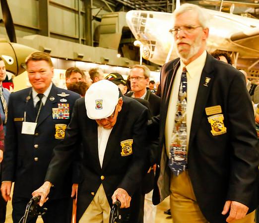 75th Anniversary, Doolittle Tokyo Raiders Reunion; gathering of B-25s.