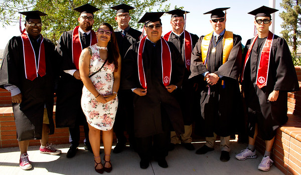 Veterans graduates
