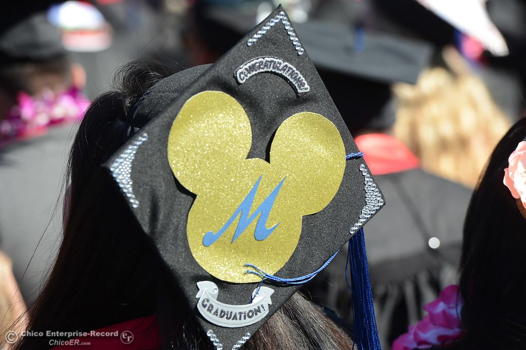 . The Chico State commencement ceremony Sunday, May 21, 2017, at University Stadium in Chico, California.  (Dan Reidel -- Enterprise-Record)