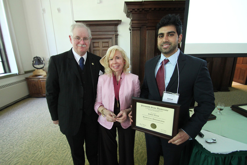 2012 MBA Certificate and Honors Luncheon & Delta Mu Delta Induction Ceremony