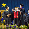 "Elizabeth Kavruk Nictune Fleagle receives an honorary doctor of education degree at the commencement ceremony May 8, 2016, at the Carlson Center.  <div class=""ss-paypal-button"">Filename: GRA-16-4896-518.jpg</div><div class=""ss-paypal-button-end""></div>"
