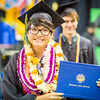 "Rachel DeWilde is all smiles at the commencement ceremony Sunday, May 8, 2016, at the Carlson Center. DeWilde received a Bachelor of Science degree in biological sciences.  <div class=""ss-paypal-button"">Filename: GRA-16-4896-974.jpg</div><div class=""ss-paypal-button-end""></div>"