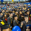"Graduates from the College of Liberal Arts pose for a portrait during commencement Sunday, May 8, 2016, at the Carlson Center.  <div class=""ss-paypal-button"">Filename: GRA-16-4896-1036.jpg</div><div class=""ss-paypal-button-end""></div>"