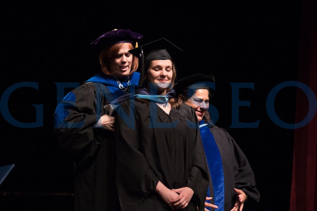 151st Commencement. Graduate Commencement Ceremony, Shannon McGinnis