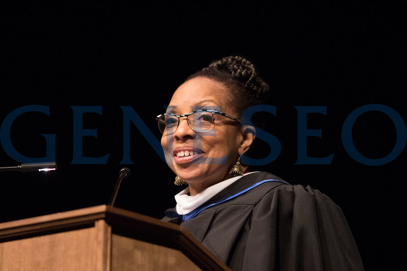 151st Commencement. Graduate Commencement Ceremony Keynote Speaker Beverly Burrell-Moore - Elementary Chief of Schools, Rochester City School District