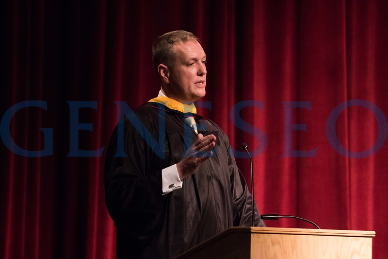 Dan White '91 delivers the keynote address.