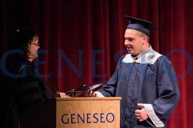 LIVES (L.I.V.E.S.) graduating senior Kaleb Kenney