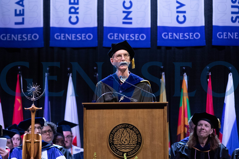 Duane McPherson, chair, college senate