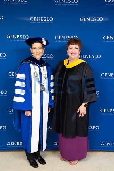 President Denise A. Battles and Denise Reed Lamoreaux '84