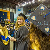 "A graduate displays a personal message on her cap during UAF's commencement ceremony May 11 in the Carlson Center.  <div class=""ss-paypal-button"">Filename: GRA-14-4186-0721.jpg</div><div class=""ss-paypal-button-end"" style=""""></div>"