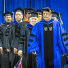 "Professor Dave Valentine with the School of Natural Resources and Extension led the faculty into the Carlson Center during UAF's commencement ceremony May 11.  <div class=""ss-paypal-button"">Filename: GRA-14-4186-0266.jpg</div><div class=""ss-paypal-button-end"" style=""""></div>"