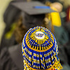 "Social work graduate Tonya Esmailka wore some unique headgear during UAF's commencement ceremony May 11 in the Carlson Center.  <div class=""ss-paypal-button"">Filename: GRA-14-4186-0700.jpg</div><div class=""ss-paypal-button-end"" style=""""></div>"
