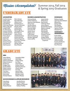 2014-15 SOM Graduates