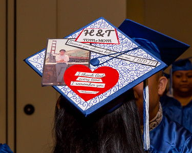 For more information on the significance of this hat, visit: https://www.kapionews.com/index.php/2018/05/14/student-honors-father-who-passed-away-at-kccs-commencement/