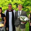 The Day Student, Boarding Student and Head of School award winners are pictured with Head of School John T. Thomas.