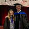 Taylor Bischoff and Dr. Mike Kelly