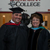 Jonathan Delgado and Dr. AnnMarie DiSiena