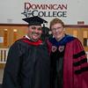 Jonathan Delgado and Sr. Mary Eileen O'Brien