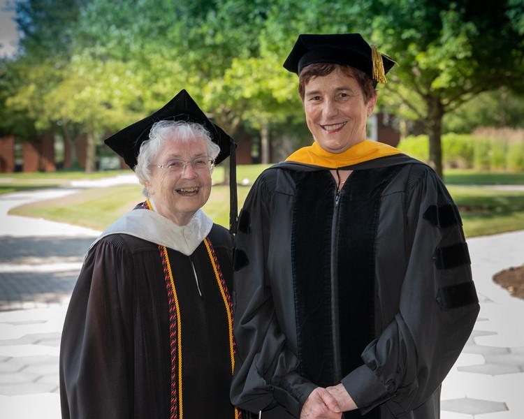 Sr. Kathleen Sullivan and Kathrin Jansen