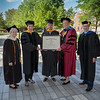 Sr. Kathleen Sullivan, Kathrin U. Jansen, Steven Sabatini, Sr. Mary Eileen O'Brien and Thomas Nowak