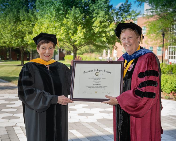 Kathrin U. Jansen and Sr. Mary Eileen O'Brien