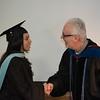 Karina Campozano and Dr. Mike Kelly