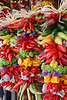 "Colorful and decorative, hanging chili pepper assortment.  (To purchase prints or downloads, click on the ""Buy"" or shopping cart button above the image.)"
