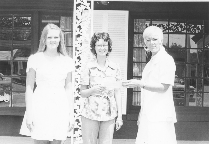 Left to right: Kathy Ray Hunter, Sue Sutton, and Faye Wheat Gantt of BB&T