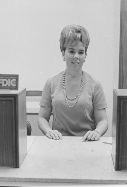 1967 Citizens Bank, Barbara Roberts