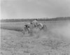 Don Swain Plowing Field, April 1970