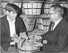 Roger Hendley State 4-H Potato Project Winner with Wendell Wood, November 1969
