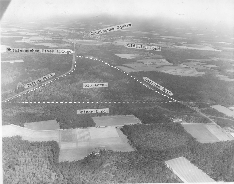Aerial View from Tifton Highway, July 1968